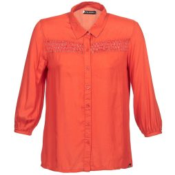Camicia a maniche lunghe donna Volcom  KNOTTY  Arancio Volcom 0887188735593