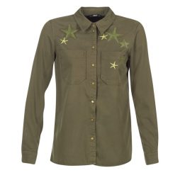 Camicia donna Only  NEVADA  Verde Only 5713615399623