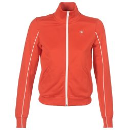 Felpa donna G-Star Raw  LANC SLIM TRACKTOP SW  Rosso G-Star Raw 8719369353536