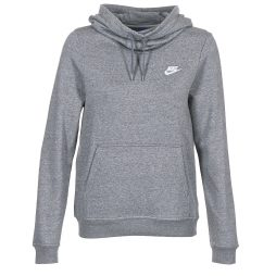Felpa donna Nike  FUNNEL FLEECE  Grigio Nike 886915983917