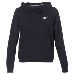 Felpa donna Nike  FUNNEL FLEECE  Nero Nike 886915983788