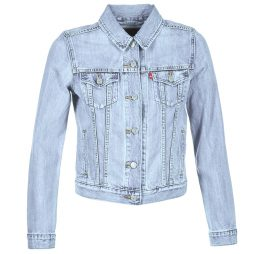 Giacca in jeans donna Levis  ORIGINAL TRUCKER  Blu Levis 5400537583178