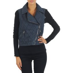 Giacca in jeans donna Mustang  WOOL PADDED DENIM VEST  Blu Mustang 4042779333534
