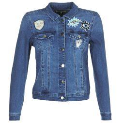 Giacca in jeans donna Naf Naf  GFUNKY  Blu Naf Naf 3606846277704