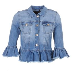 Giacca in jeans donna Only  SIA  Blu Only 5713723312811