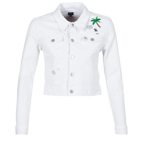 Giacca in jeans donna Pepe jeans  FRIDA  Bianco Pepe jeans 8434538583506