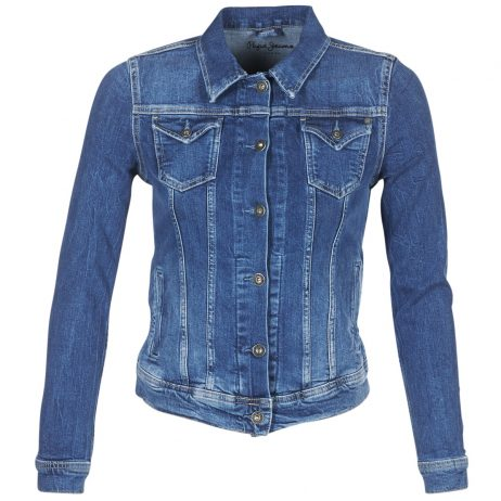 Giacca in jeans donna Pepe jeans  THRIFT  Blu Pepe jeans 8434538498114