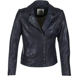 Giacca in pelle donna Esprit  VESTAROLA  Blu Esprit 4058907570788