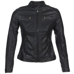 Giacca in pelle donna Moony Mood  IDESCUNE  Nero Moony Mood