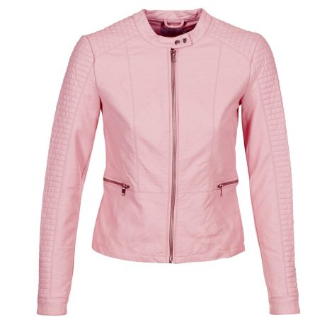 Giacca in pelle donna Only  HEART  Rosa Only 5713734062200