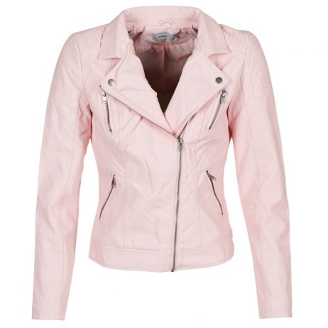 Giacca in pelle donna Only  STEADY  Rosa Only 5713726062133