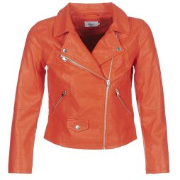 Giacca in pelle donna Only  SUMMER  Arancio Only 5713726065998