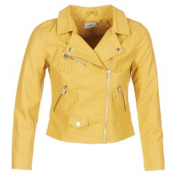 Giacca in pelle donna Only  SUMMER  Giallo Only 5713728655838
