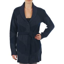 Gilet / Cardigan donna Gant  N.Y. DIAMOND SHAWL COLLAR CARDIGAN  Blu Gant 7321368614092