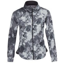 Giubbotto donna The North Face  TNF BLACK BOTANICAL PRINT MOUNTAIN ATHLETICS  Grigio The North Face 191477393662