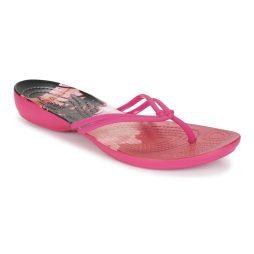 Infradito donna Crocs  CROCS ISABELLA GRAPHIC FLIP W  Rosa Crocs 887350913514