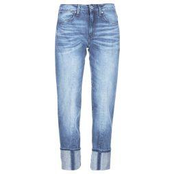 Jeans 3/4 & 7/8 donna G-Star Raw  LANC 3D HIGH STRAIGHT  Blu G-Star Raw 8719367967568