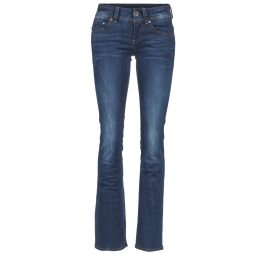 Jeans Bootcut donna G-Star Raw  MIDGE SADDLE MID BOOTLEG  Blu G-Star Raw 8718598338116