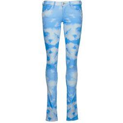 Jeans Slim donna Wrangler  COURTNEY SKINNY SUNNY SKY  Blu Wrangler 5415187212552