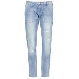 Jeans boyfriend donna Le Temps des Cerises  NISRINE  Blu Le Temps des Cerises 3607813230708