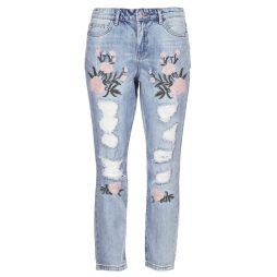 Jeans boyfriend donna Only  TONNI  Blu Only 5713726275847
