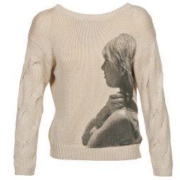 Maglione donna Brigitte Bardot  ARLETTE  Beige Brigitte Bardot 3554803760250