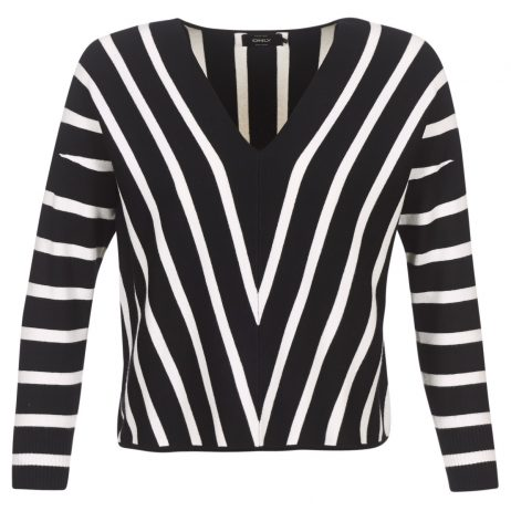Maglione donna Only  AYA  Nero Only 5713733549726