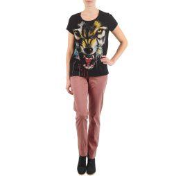 Pantalone Chino donna Eleven Paris  PANDORE WOMEN  Rosa Eleven Paris 3607891081100