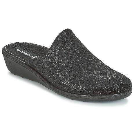 Pantofole donna Romika  ROMILASTIC 398  Nero Romika 4052443895503