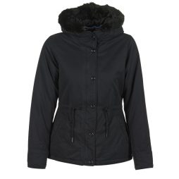 Parka donna Bench  PADDED JKT WITH FUR LINNING  Nero Bench 5054577608546