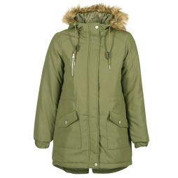Parka donna Noisy May  LEIA  Verde Noisy May 5713611001544