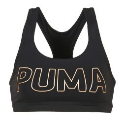 Reggiseno sportivo donna Puma  PWRSHAPE FOREVER LOGO  Nero Puma 4057828028309