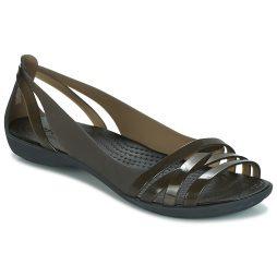 Sandali donna Crocs  ISABELLA HUARACHE 2 FLAT W  Nero Crocs 191448145863