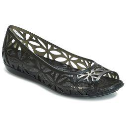 Sandali donna Crocs  ISABELLA JELLY II FLAT W  Nero Crocs 191448147317