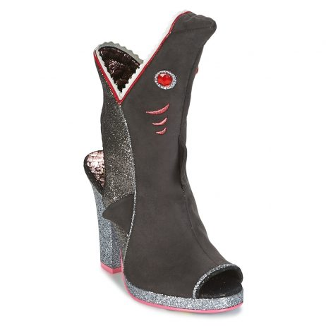 Sandali donna Irregular Choice  BITE ME  Grigio Irregular Choice 5052224474025