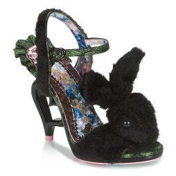 Sandali donna Irregular Choice  FLUFFY LOVE  Nero Irregular Choice 5052224469991