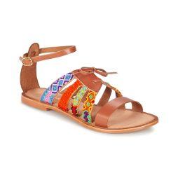 Sandali donna Lollipops  ZODIAC FLAT SANDAL  Marrone Lollipops 3534230854043