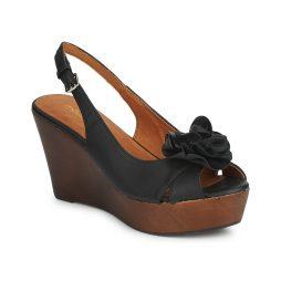 Sandali donna Moda In Pelle  PECAN  Nero Moda In Pelle 000111140121