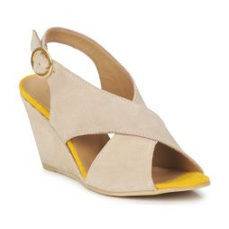 Sandali donna Pieces  OTTINE SHOP SANDAL  Beige Pieces 5711294342305