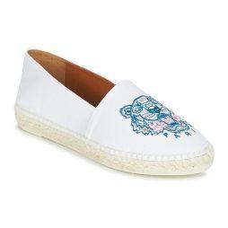 Scarpe Espadrillas donna Kenzo  CLASSIC ESPADRILLES TIGER  Bianco Kenzo 3603679210793