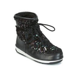 Scarpe da neve donna Moon Boot  MOON BOOT WE LOW MIRROR WP  Nero Moon Boot 8050459494952