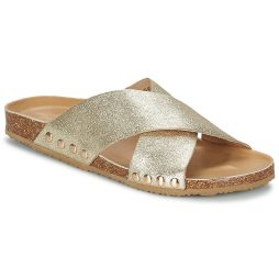 Scarpe donna Colors of California  METALLIC MULE  Oro Colors of California