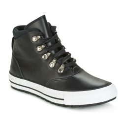 Scarpe donna Converse  CHUCK TAYLOR ALL STAR EMBER BOOT SMOOTH LEATHER HI BLACK/BLACK/W  Nero Converse 888754730561