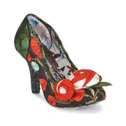 Scarpe donna Irregular Choice  BUDDING BEAUTY  Nero Irregular Choice 5052224468116