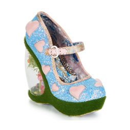 Scarpe donna Irregular Choice  FORBURY GARDENS  Blu Irregular Choice 5052224473677