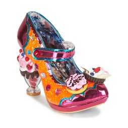 Scarpe donna Irregular Choice  ICE AND A SLICE  Arancio Irregular Choice 5052224472557