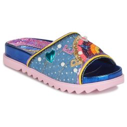 Scarpe donna Irregular Choice  LOVE PEACE  Blu Irregular Choice 5052224472199