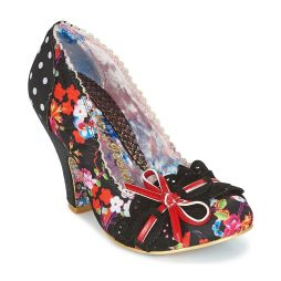 Scarpe donna Irregular Choice  MAKE MY DAY  Nero Irregular Choice 5052224463630