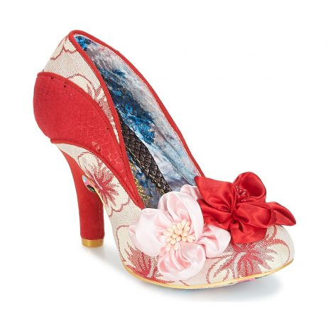 Scarpe donna Irregular Choice  PEACH MELBA  Rosso Irregular Choice 5052224454690