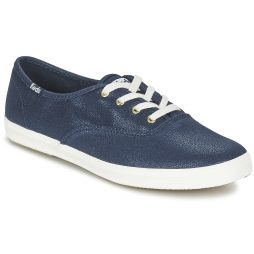 Scarpe donna Keds  CH METALLIC CANVAS  Blu Keds 044214389995